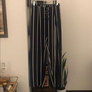 Anthropologie Wide-leg Pant with Slits